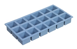Tray for square ice cubes.