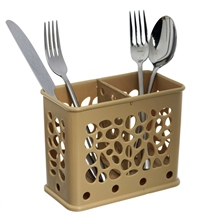 Cutlery drainer.