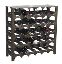Kit 5 bottle racks + Cover (30 bottles).