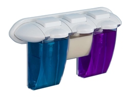 Triple gel dispenser.