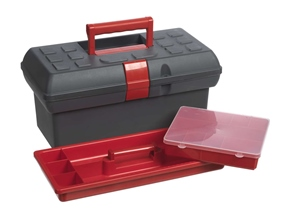 Small toolbox with 1 utility box
