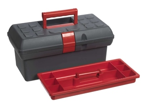 Small toolbox without utility box