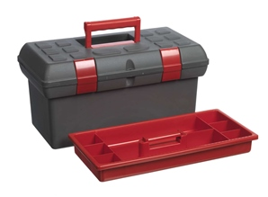 Large toolbox without utility box
